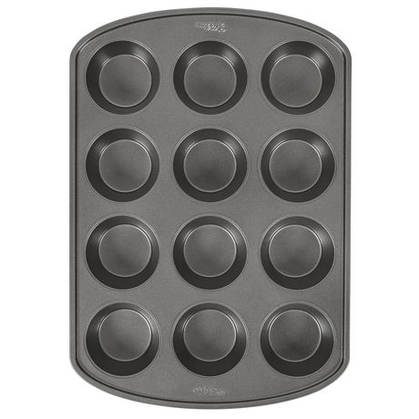 Wilton Baker's Choice Non-Stick Bakeware Standard 12-Cup Muffin Pan - image 2 of 5