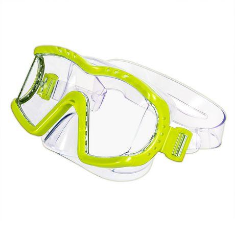 Dolfino Adult Optium Triview Yellow Swim Mask - image 1 of 1