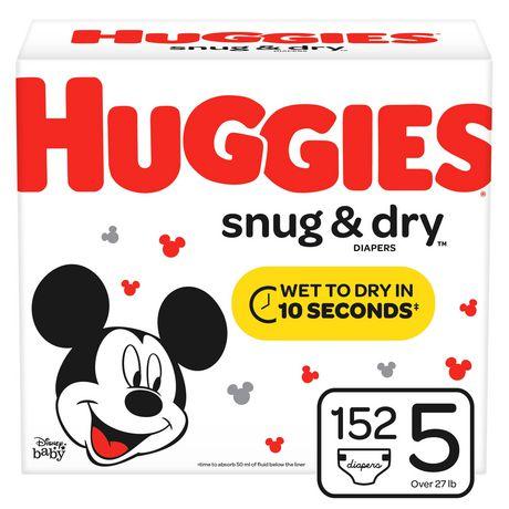 HUGGIES Snug & Dry Diapers, Econo Pack - image 1 of 7