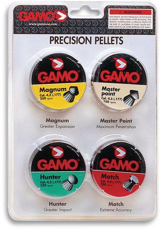 Paquet combo Gamo calibre .177 Munitions de haute performance - image 1 de 1