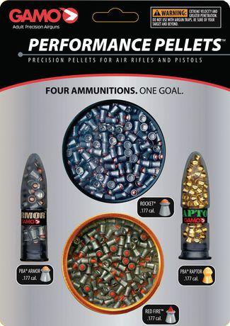 Paquet combo Gamo calibre .177 Plombs de haute performance - image 1 de 1