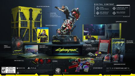 Cyberpunk 2077 Collector's Edition (PS4) - image 1 of 1