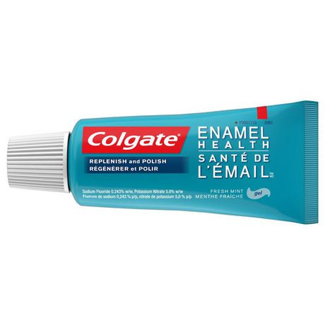 Colgate Enamel Health Sensitivity Relief Fluoride Toothpaste Fresh Mint Gel Formula Walmart