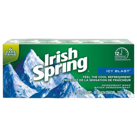 Irish Spring Icy Blast Deodorant Bar Soap - image 2 of 4