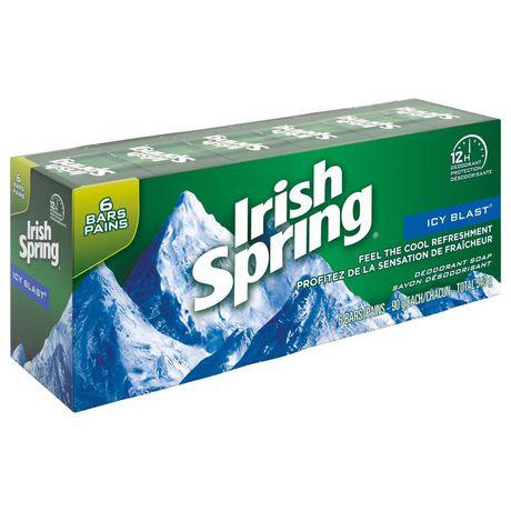 Irish Spring Icy Blast Deodorant Bar Soap - image 3 of 4