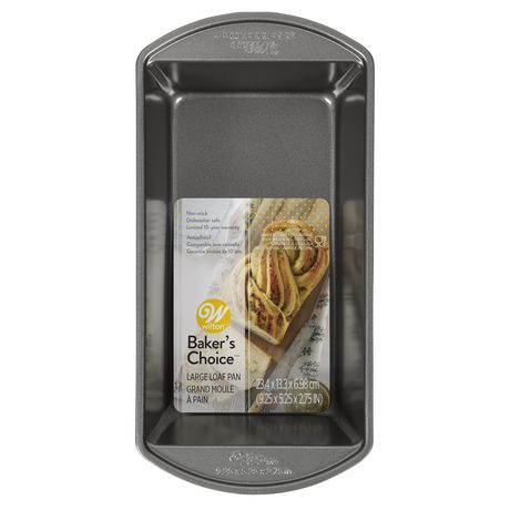 Wilton Baker's Choice Non-Stick Bakeware Large Loaf Pan - image 1 of 2