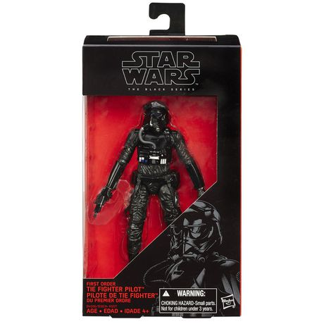 """Star Wars 6/"""" Black Series Deluxe First Order TIE Fighter Vehicle with Pilot"""