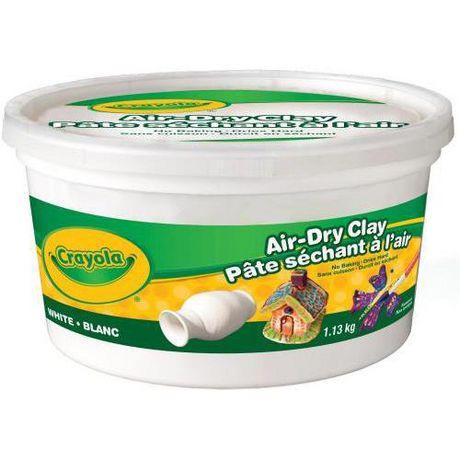 Air Dry Clay - White | Walmart Canada