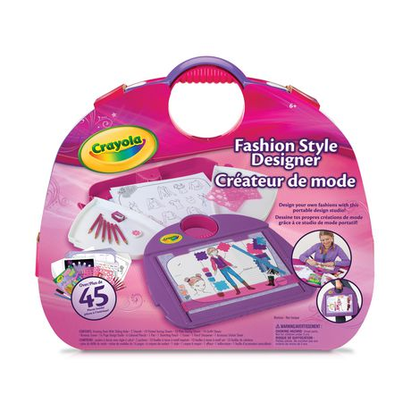 Crayola fashion style designer Crayola fashion design studio reviews