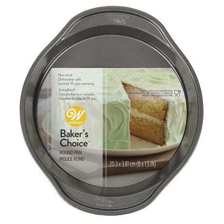 Wilton Baker's Choice Non-Stick Bakeware Round Cake Pan - image 1 of 5