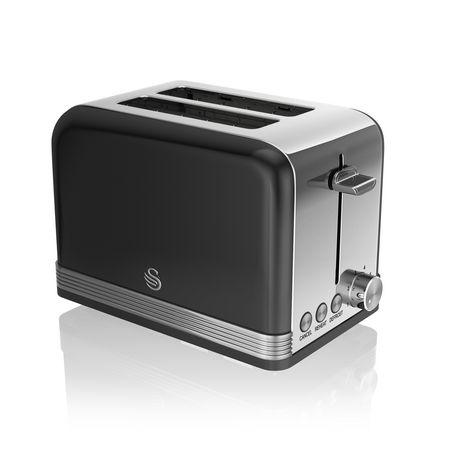 Swan Retro 2 Slice Toaster ST19010BN - image 1 of 3