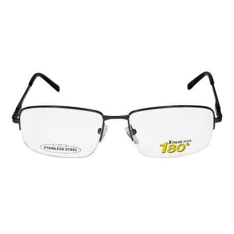 fac00895630 Journey Gunmetal Eye-Size  55-17-140 Stainless steel frame material  Lightweight on the face