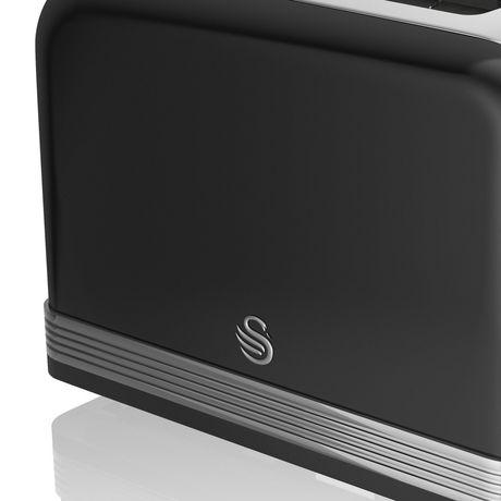 Swan Retro 2 Slice Toaster ST19010BN - image 3 of 3