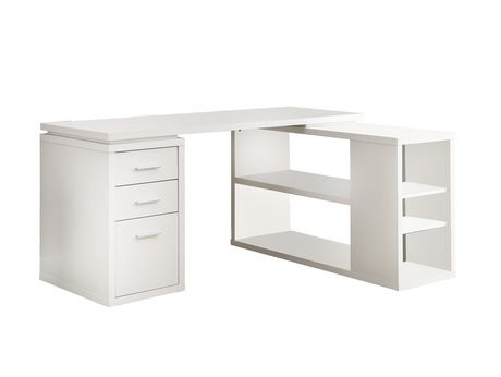 Bureau de coin hollow core de monarch blanc walmart canada