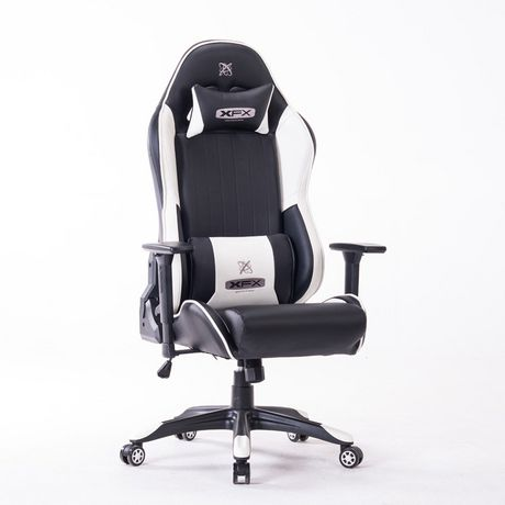 Xfx Gtr400 Faux Leather Gaming Chair White Walmart Canada