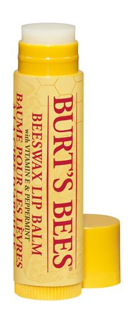 Burt's Bees 100% Natural Moisturizing Lip Balm, with Vitamin E and Peppermint - 1 Tube - image 1 of 3