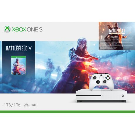 XBOX ONE S 1TB BATTLEFIELD V BUNDLE - image 1 of 1