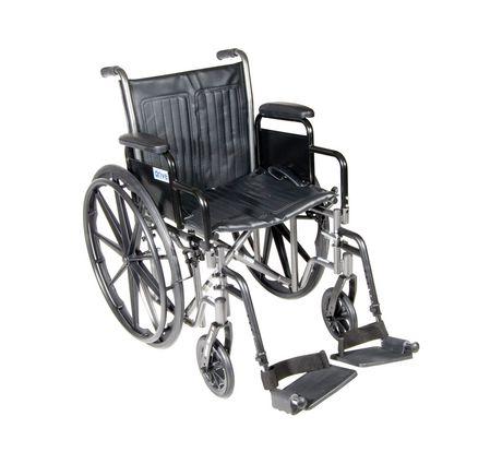 Fauteuil roulant Silver Sport 2 avec siège de 18 po avec accoudoirs réglables de Drive Medical - image 1 de 1