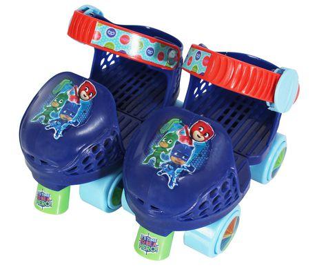 Playwheels PJ Masks Kids Roller Skates with Knee Pads - image 1 of 2