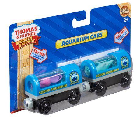 Fisher-Price Thomas & Friends Wooden Railway Aquarium Cars - image 2 of 2