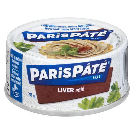 Paris pâté, Pâté foie - image 1 de 2