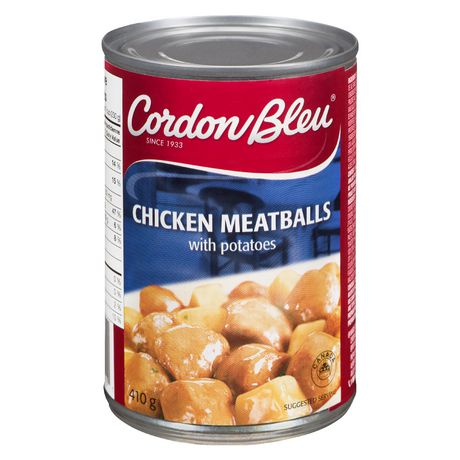 Cordon Bleu Chicken Meatballs with Potatoes - image 1 of 2