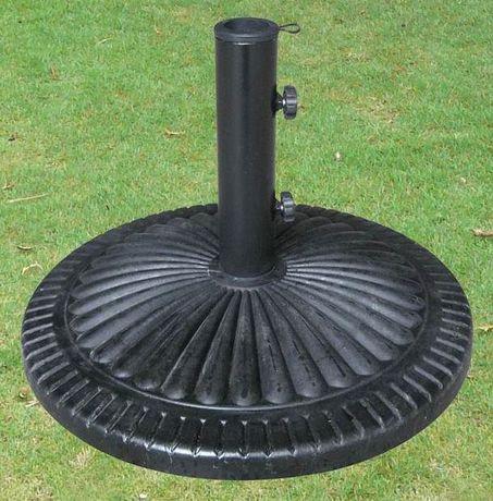 Henryka Round Fluted Design Umbrella Base - image 1 of 3