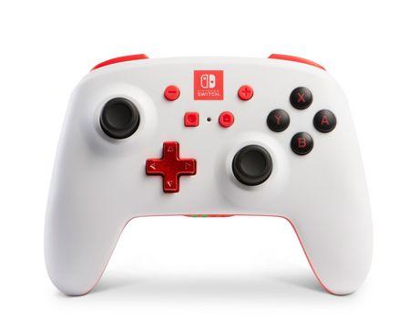 BDA PowerA Enhanced White Wireless Controller for Nintendo Switch - image 1 of 1