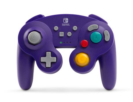 Wireless Controller for Nintendo Switch - GameCube Style Purple - image 1 of 1