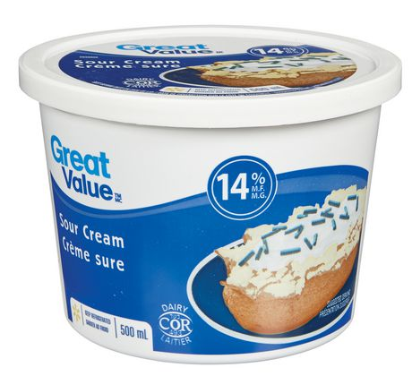 Great Value Sour Cream 14% Mf - image 1 of 1