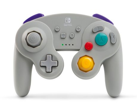 Wireless Controller for Nintendo Switch - GameCube Style Grey - image 1 of 1