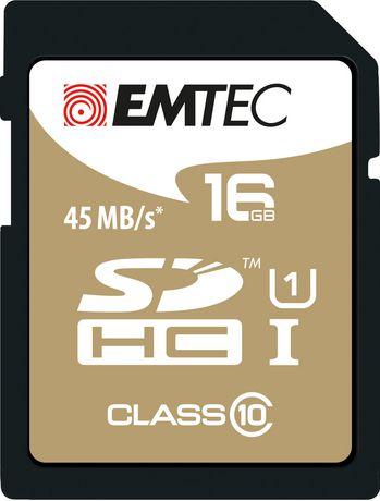 Emtec CL10 U1 16 GB SD Gold Card - image 1 of 1
