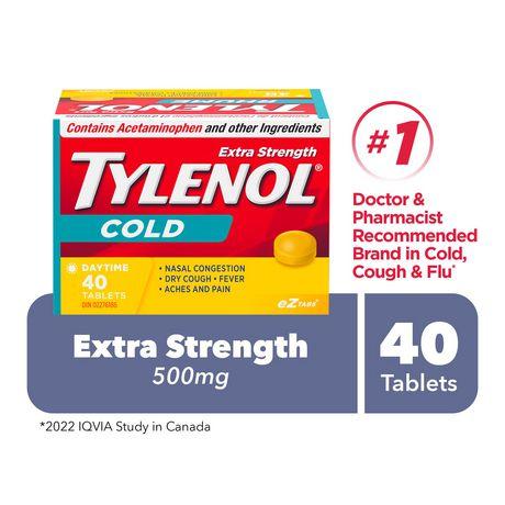 40 comprimés pour le jour - Tylenol - image 1 de 1