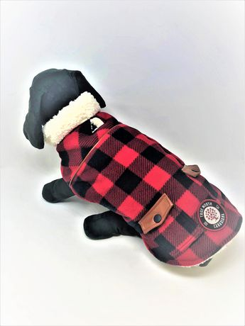 Canadiana dog easy fit buffalo plaid jacket by PMP - image 2 of 2