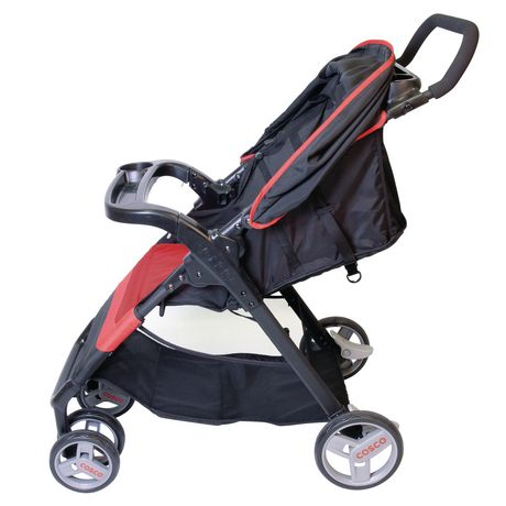Cosco Simple Fold Travel System - Bright Flame - image 2 of 5