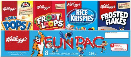 Kellogg's Fun Pac Cereal, 210g - image 3 of 4