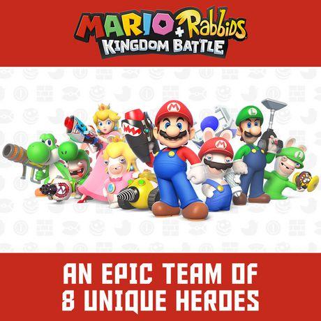 Ubisoft Mario + Rabbids Kingdom Battle Anniversary Edition Walmart Exclusive (Nintendo Switch) (includes 1 random figure) - image 6 of 8