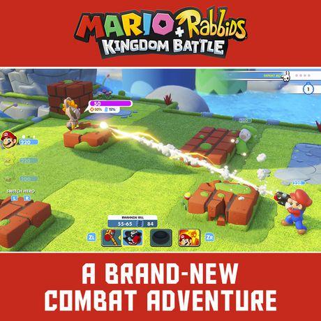 Ubisoft Mario + Rabbids Kingdom Battle Anniversary Edition Walmart Exclusive (Nintendo Switch) (includes 1 random figure) - image 7 of 8