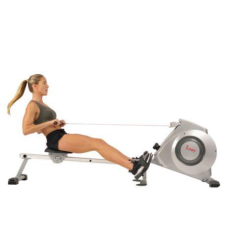 Sunny Health Amp Fitness Sf Rw5612 Rowing Machine Walmart