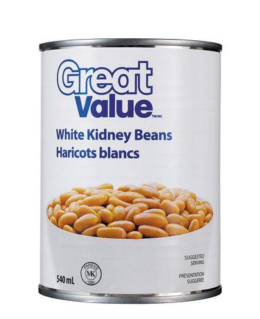 Haricots blancs de Great Value - image 1 de 2