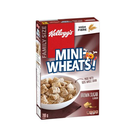 Kellogg's Mini-Wheats Cereal, Brown Sugar Flavour, 700g - image 6 of 11