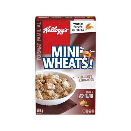 Kellogg's Mini-Wheats Cereal, Brown Sugar Flavour, 700g - image 7 of 11