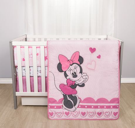 douillette pour lit de b b de disney minnie mouse walmart canada. Black Bedroom Furniture Sets. Home Design Ideas