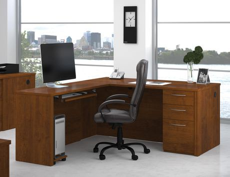 bureau en l embassy walmart canada. Black Bedroom Furniture Sets. Home Design Ideas