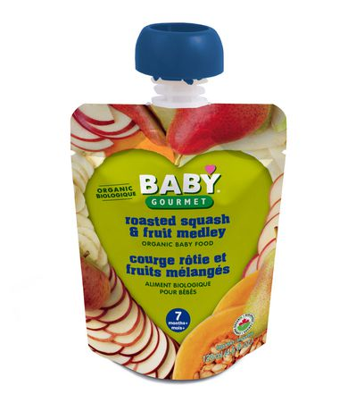 Baby Gourmet Foods Inc Roasted Squash And Fruit Medley