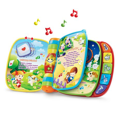 VTech Do, Ré, Mi, Super livre enchanté - Version anglaise - image 3 de 9