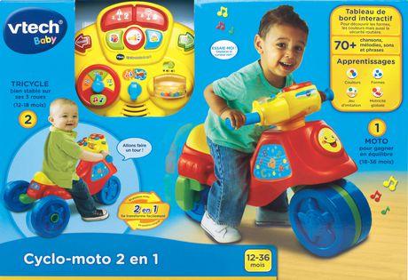 VTech Cyclo-moto 2-en-1 - Version française - image 5 de 5