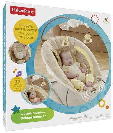 fisher price deluxe bouncer instructions