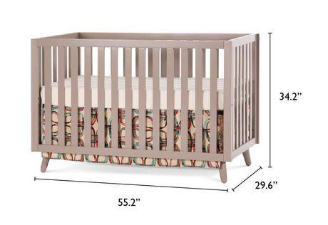 Child Craft Loft Convertible Crib - image 5 of 6