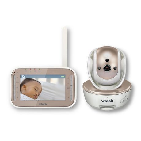VTech® VM343 Safe&Sound® Full Colour Video And  Audio Baby Monitor - image 1 of 3
